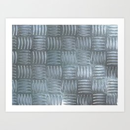 Aluminum Textured Art Print