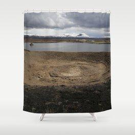 Iceland - Myvatn Shower Curtain