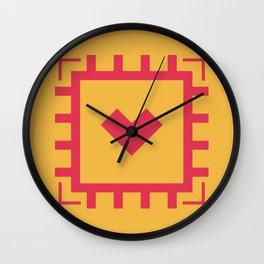 MICROPROCESSOR CHIP Wall Clock