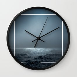 Twilight Geometry Wall Clock