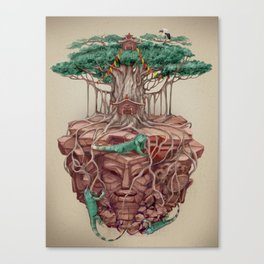 tree land Canvas Print