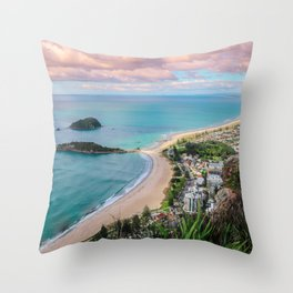 View from the Mount Throw Pillow