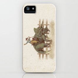 Dino Rodeo  iPhone Case