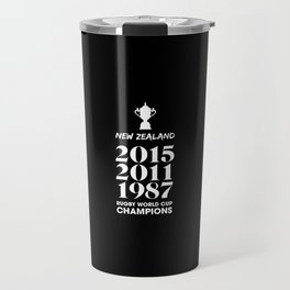 New Zealand Treble Rugby World Cup Champions Travel Mug
