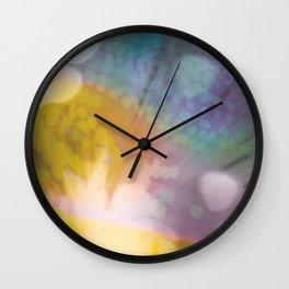 Color Games Three Wall Clock