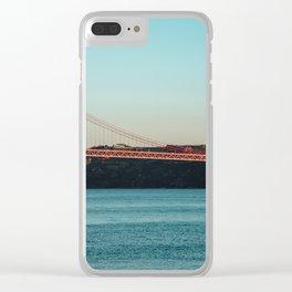Lisbon, Portugal Clear iPhone Case