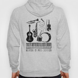 Weapons Of Mass Creation - Music Hoody