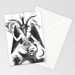 Baphomet - Satanic Church Stationery Cards