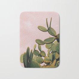 Cactus on Pink Sky Bath Mat
