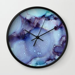 Raindrops 2017 Wall Clock