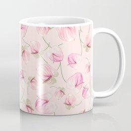 seamless   pattern of Anthurium Flowers Coffee Mug