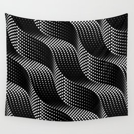 Flow of Bubbles Wall Tapestry