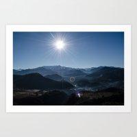 Atlas Mountains Art Print