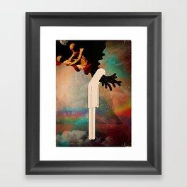 testa fusa Framed Art Print