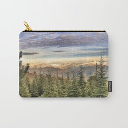 """Wildderness"". Adventure at the mountains... Carry-All Pouch"