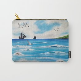 Beach holiday Carry-All Pouch