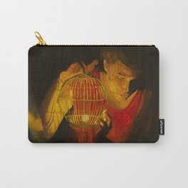 Girl with Candle Holder Carry-All Pouch