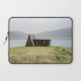 House in front of the lake Laptop Sleeve