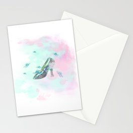 Cinderella's Shoe Stationery Cards