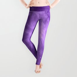 Orion NebuLA Purple Leggings