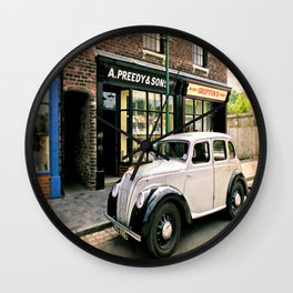 Bygone Years Wall Clock