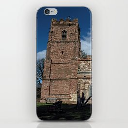 St Botolph's Church, Rugby, Warwickshire iPhone Skin