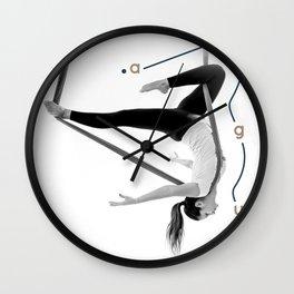 AntiGravity Robin Hood pose Wall Clock