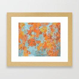 South Inge Maple Framed Art Print