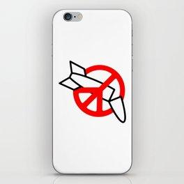 Stop War iPhone Skin