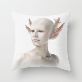 Troika zero-one Throw Pillow