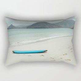 Lombok beach Rectangular Pillow