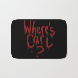 Where's Carl? Bath Mat