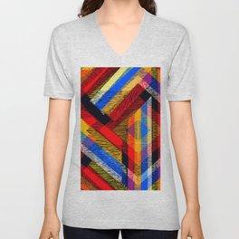 Tangled Maze Unisex V-Neck