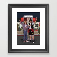 Be Excellent to Each Other Framed Art Print