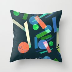 Geometry 3 Throw Pillow