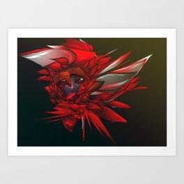 Wild Flower Z Art Print