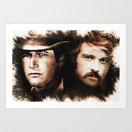 Butch and Sundance Art Print