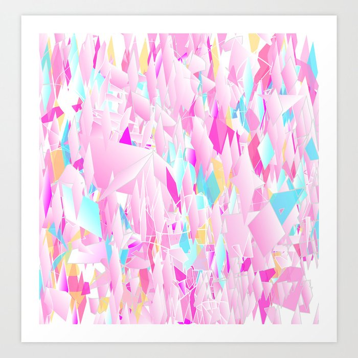 Chaos Applied Art Print