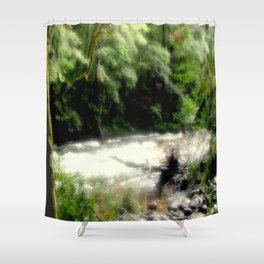 Franklin - Gordon River Shower Curtain