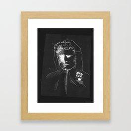 BERTIE GILBERT - stray dog Framed Art Print