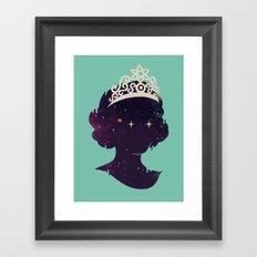 Miss U Framed Art Print