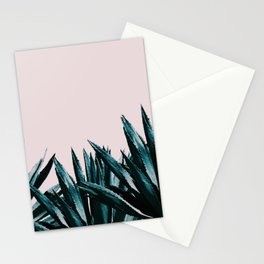 Pastel agave Stationery Cards