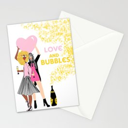 Love and Bubbles Stationery Cards