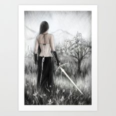 Once Innocent Art Print