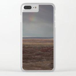 Desert Rainbow Clear iPhone Case