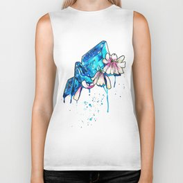 WILTED CRYSTALS Biker Tank