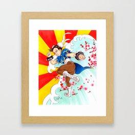Chunli Street Fighter Framed Art Print