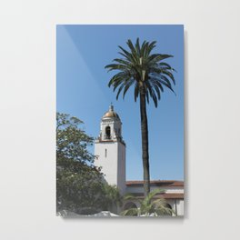 Unitarian Society of Santa Barbara Church Metal Print
