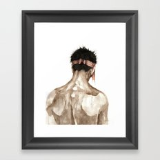 O. Framed Art Print