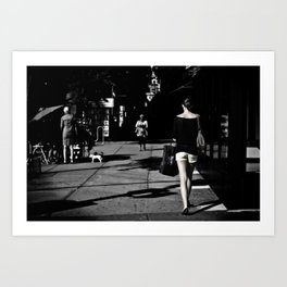 Fleeting Moments Art Print